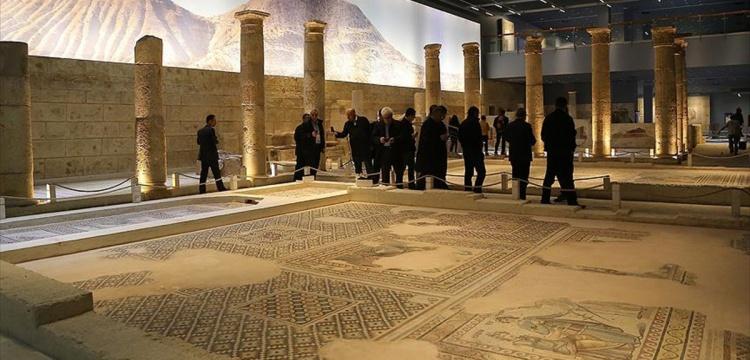 Zeugma Mozaik Müzesi sanal da gezilecek