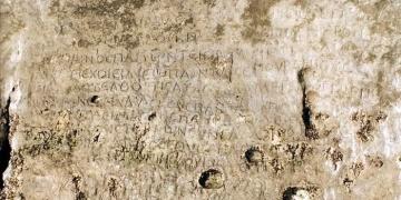 Hastek Kalesinde hüzünlü yazıt
