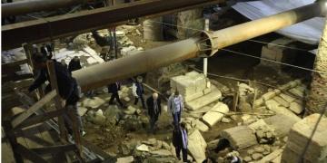 Tarihi kalıntılar metro inşaatını 4 yıl erteletti