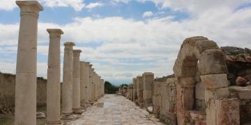Tripoliste 2 bin yıllık pazar yeri bulundu