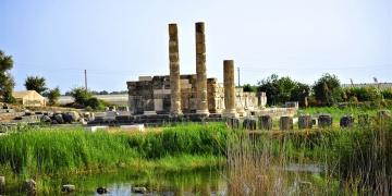 Letoon Antik kentinde kazılar tamamlanıyor
