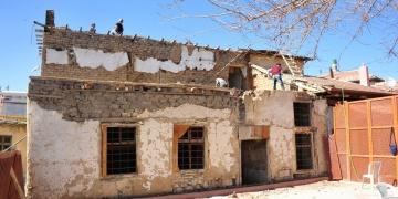 Karamanda tarihi ev restore ediliyor