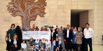 Suriyeli kadınlar Hatay Arkeoloji Müzesini gezdi