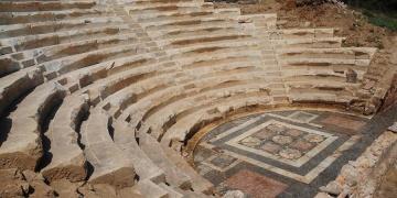 Parion antik kentinde restorasyan bitmek üzere