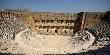 Aspendos Antik Tiyatrosu Opera ve Bale Festivaline hazır