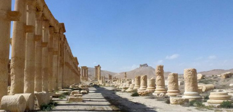 Palmira'da hasar büyük