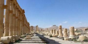 Palmirada hasar büyük