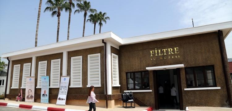 Mersin'de 78 yıllık su arıtma tesisi müze oldu