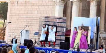 Sardes antik şehri tiyatro oyununa ev sahipliği yaptı