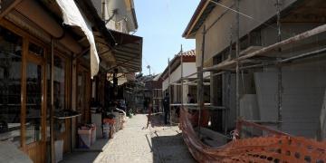Konya Akşehir Arasta Çarşısı restore ediliyor