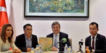 Moğolistanda Türk Ayak İzleri tanıtıldı