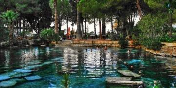 Denizli Hierapolis Antik Havuz