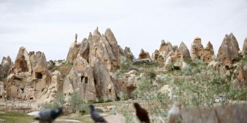 Kapadokyayı Ekim ayında 175 bin 612 turist gezdi