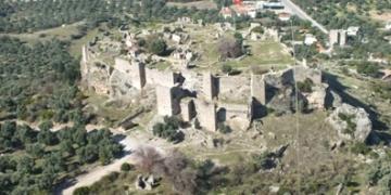 Beçin Kalesinde 2018 yılı arkeoloji kazıları tamamlandı