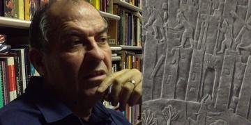 Harputta Bulunan kayada Asurbanipal esintileri de var