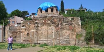 Bursa Mudanya Başmelekler Kilisesinde restorasyon hazırlığı