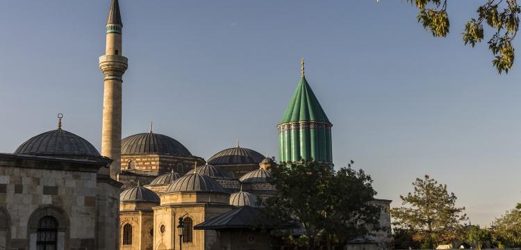 Konya Mevlana Müzesi ramazana hazır