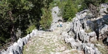 Antalyada bulunan antik yol restore edilecek