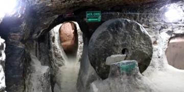 Aksarayda 7 katlı yeraltı şehri restore edildi