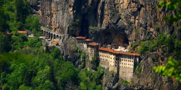Sümela Manastırı kapalı haliyle de turizmde iddalı