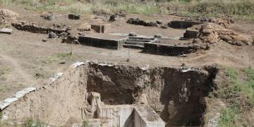 Mukiş Krallığının başkenti kazılıyor