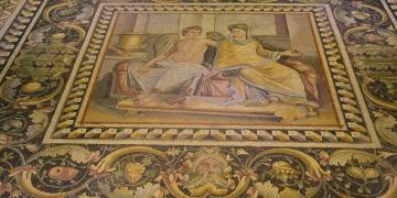 Mozaikler bayramda ziyaretçilerini bekliyor