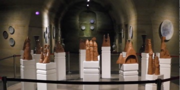 Nevşehir Yer altı müzesinde seramik tarihi sergileniyor