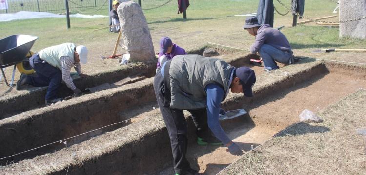 Bilge Tonyukuk Anıt Alanı kazı çalışmaları başladı