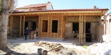 Karaman Tartanzade Konağında restorasyon çalışmaları ediliyor