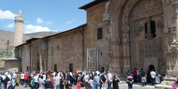 Divriği Ulu Cami ve Darüşşifası restorasyonu devam ediyor