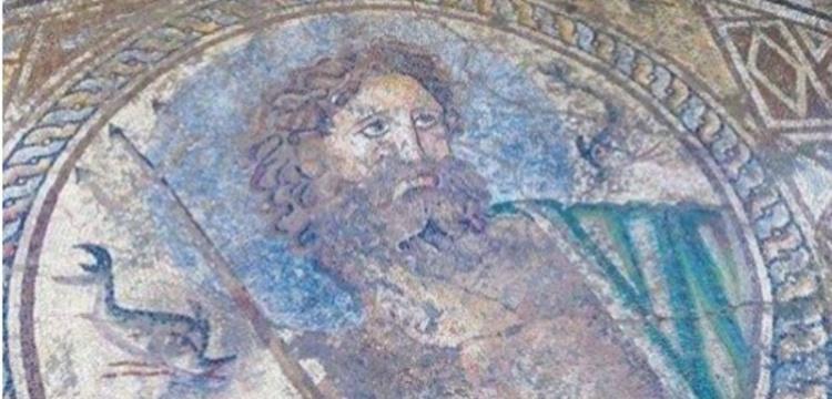 Adana Yumurtalık'ta Poseidon Moziği Bulundu