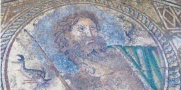 Adana Yumurtalıkta Poseidon Moziği Bulundu
