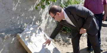 Roma Dönemi mezar steli bulundu
