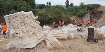 Kyzikos Antik Kentinde 11nci yıl kazıları başladı