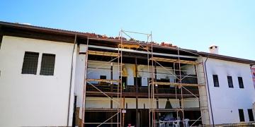 Malatyada yangında zarar gören tarihi konak restore ediliyor