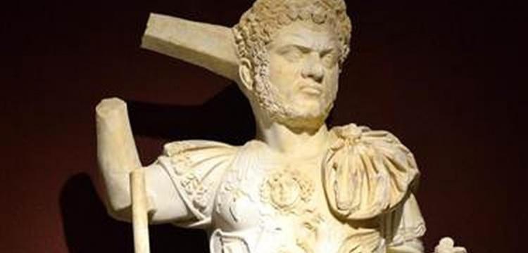 Caracalla'nın bütün heykeli bulundu