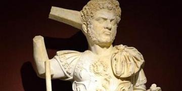 Caracallanın bütün heykeli bulundu