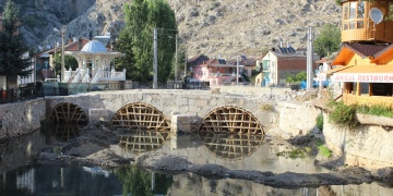 Konya Bozkırda Selçuklu Köprüsü restore ediliyor
