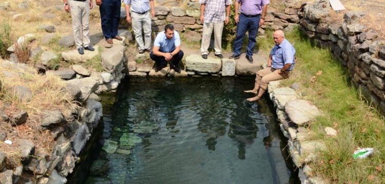 Lapseki'nin tarihi kaplıcaları halkın kullanımına açılacak