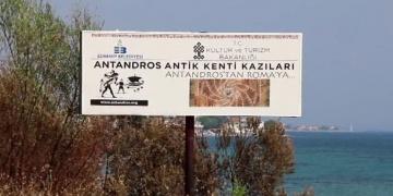 Antandros Antik Kenti kendine özel yıl istiyor