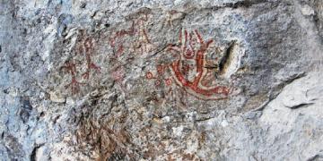 Dursunbeyde neolitik çağ resimleri bulundu