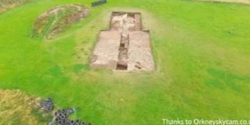 Neolitik çöplükte şaşırtan gizemli taş yapı