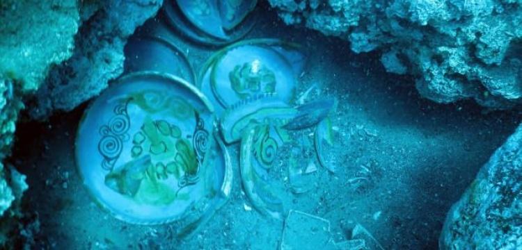Antalya'daki Batık Gemide arkeolojik çalışma