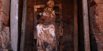 Orduda Ana Tanrıça Kibele heykeli bulundu