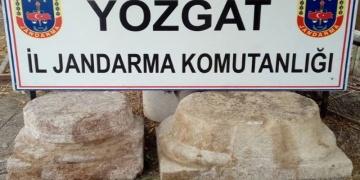 Yozgatta tarihi eser kaçakçılığı
