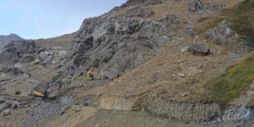 Sason Mereto Dağında Bulunan Tarihi Kiliseye Yol Yapılıyor