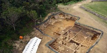 Okinawa Kalesi Kazılarında Roma Sikkesi Bulundu