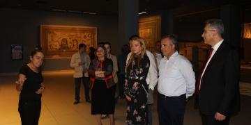 Zeugma Müzesi Lindsay Lohanı ağırladı