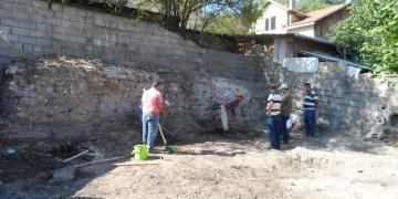 Boluda yıkım çalışmasında tarihi kalıntılar bulundu