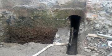 Zonguldakta tarihi hamam kalıntıları bulundu